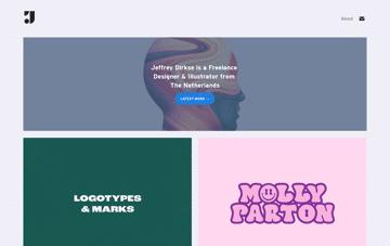 Jeffrey Dirkse / Designer & Illustrator Web Design