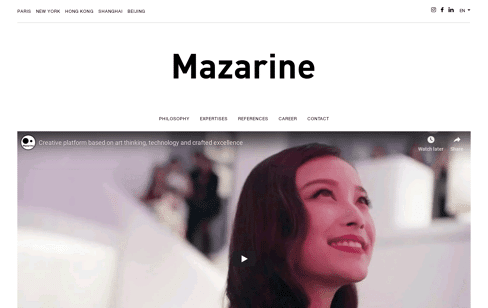 MAZARINE Web Design