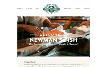 Newman's Fish Web Design