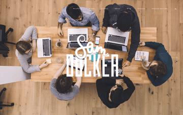 Sam Docker Web Design