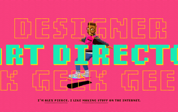 Alex Pierce – Designer. Art Director. Geek. Web Design