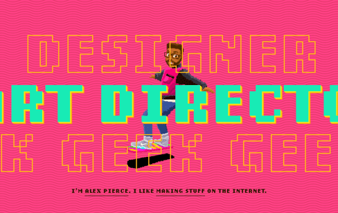 Alex Pierce – Designer. Art Director. Geek. Web Design