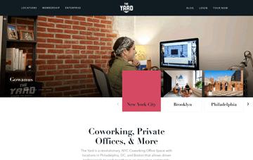 Work At The Yard Web Design