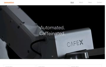 Ammunition Web Design