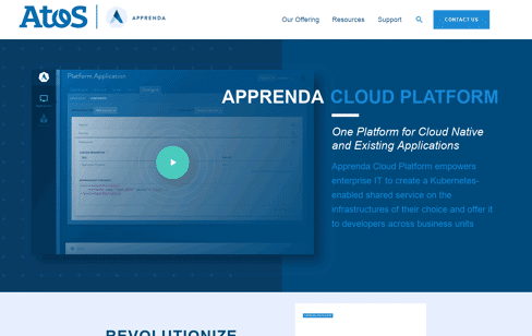 Apprenda Web Design