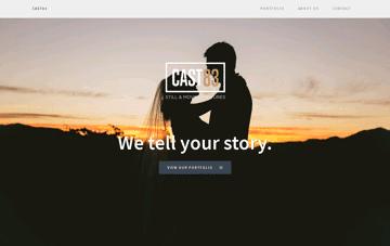 CAST83   Still & Moving Pictures Web Design