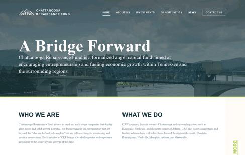 Chattanooga Renaissance Fund Web Design