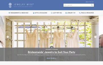Jewelry Wise Web Design