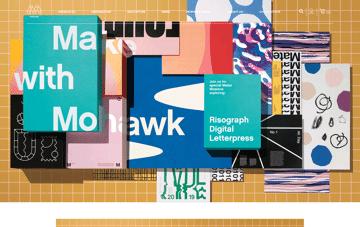Mohawk Connects Web Design