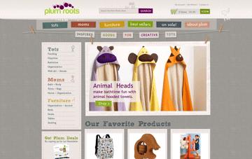 Plum Roots Home Web Design