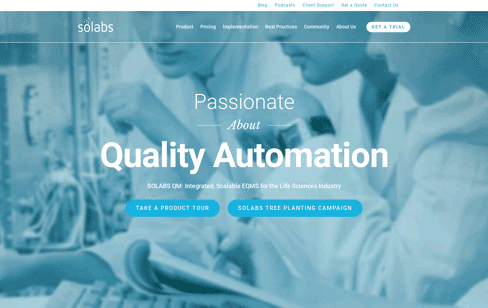 Solabs Web Design