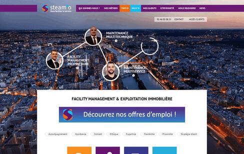 Steam'O Web Design