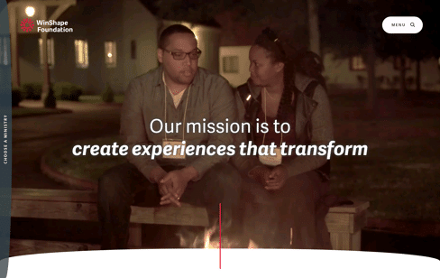 WinShape Foundation Web Design
