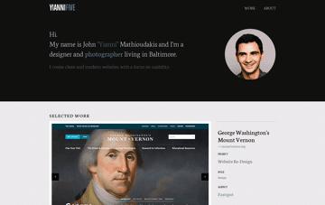 YianniFive Design, Development & Photography Web Design