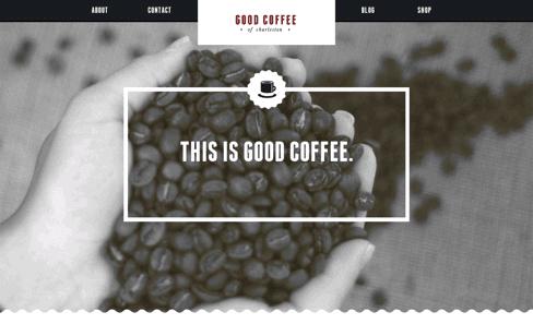 Good Coffee Charleston Web Design