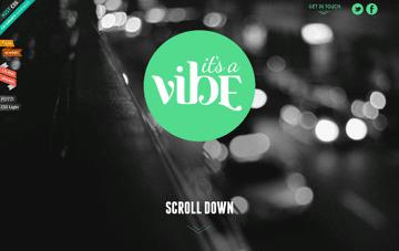 It's a Vibe! Web Design