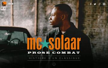 Prose Combat Web Design