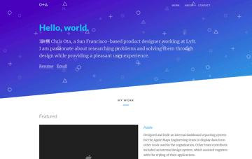 Chris Ota Designs Web Design