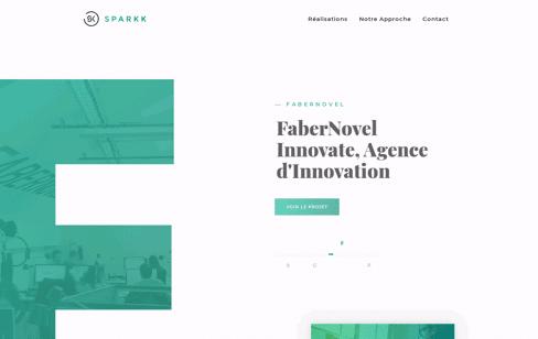 SPARKK Web Design