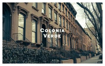 Colonia Verde Web Design