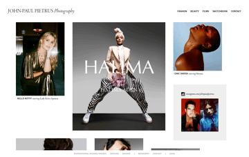 John-Paul Pietrus Photography Web Design