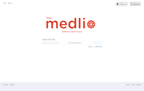 Medlio Web Design