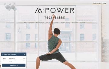 M·Power Yoga Web Design