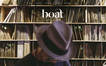 Boat magazine Web Design