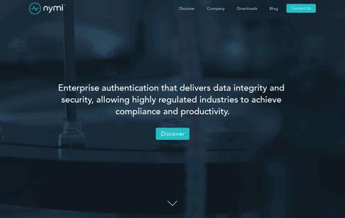 Nymi Web Design