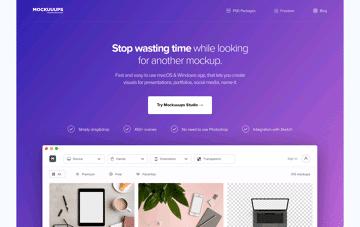 Mockuuups Web Design