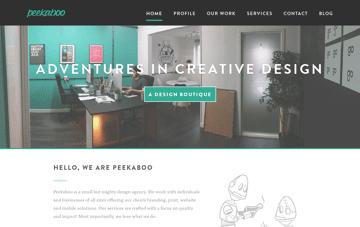 Peekaboo Design Agency Web Design