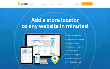 Prolo Finder Web Design