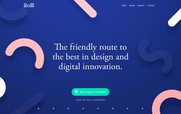 Rollstudio Web Design