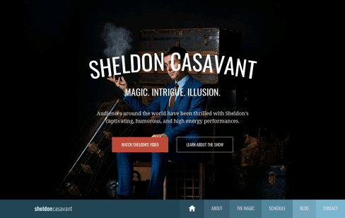 Sheldon Casavant Web Design