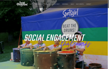 ocial Playground Web Design