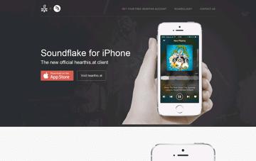 Soundflake Web Design