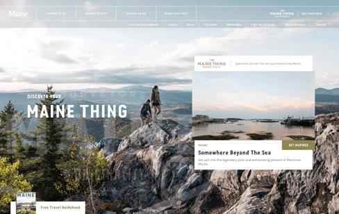 Visit Maine Web Design