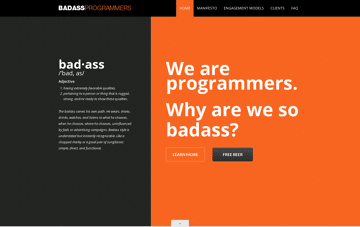 Badass Programmers – Leading Mobile, Web, and Digital Services Web Design