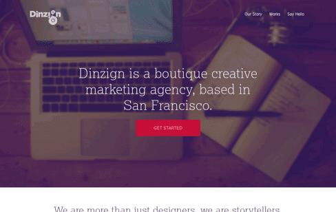 Dinzign Web Design