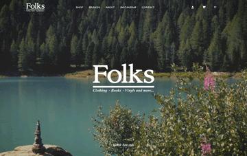 Folks Verona Web Design