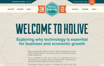 HDLive 2012 Web Design
