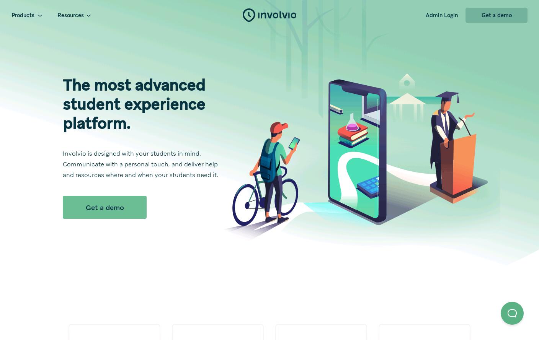 The Most Advanced Student Success Platform » Involvio