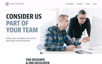 Iron to Iron Web Design