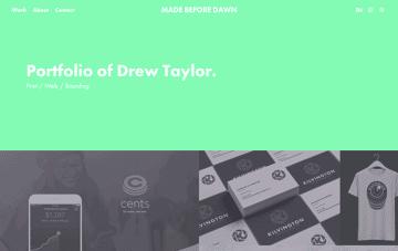 Made Before Dawn Web Design