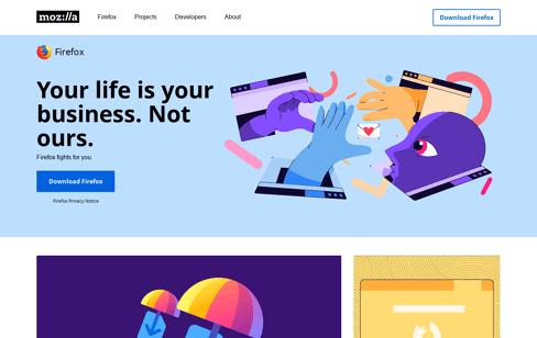 Mozilla Web Design