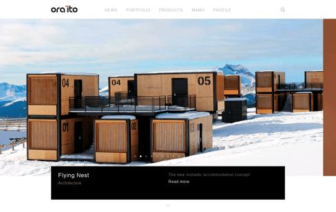 Ora-ïto Mobility Web Design