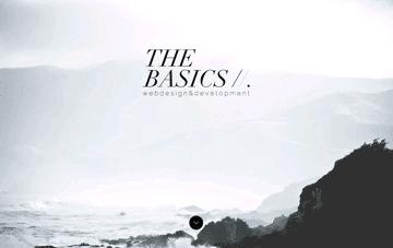 The Basics   webdesign & development Web Design