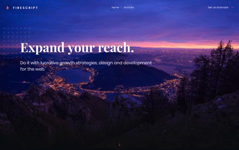 Firescript  Web Design