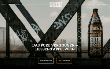 Home » GUDE® - Aus dem Herzen Europas Web Design