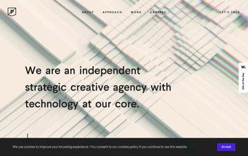 Purple Rock Scissors Web Design